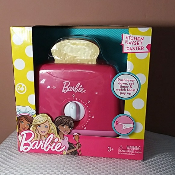Barbie Other - NEW Barbie kitchen playset Toaster